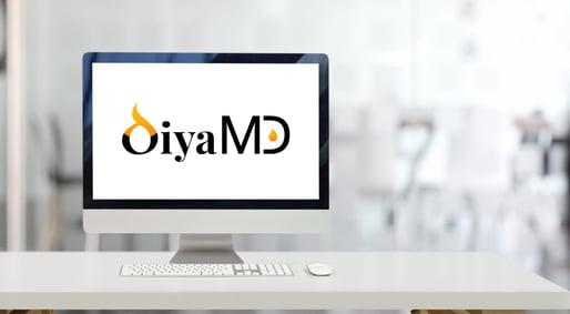 DiyaMD Logo Computer